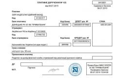 Звітні бухгалтерські документи 3