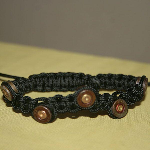 Плетений браслет із гільз - сувенір