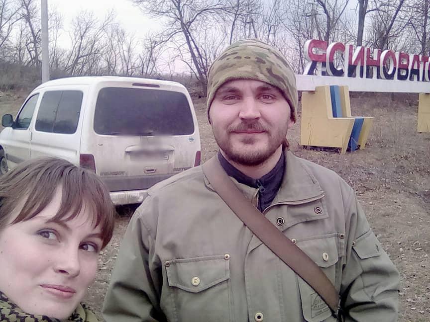 З командиром добровольчого підрозділу по дорозі на фронт