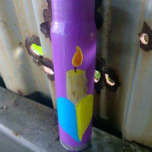 Сувенір гільза свічка пам'яті