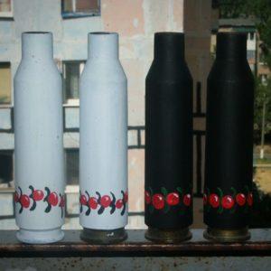 Сувеніри: Гільза від ДШК з українським орнаментом