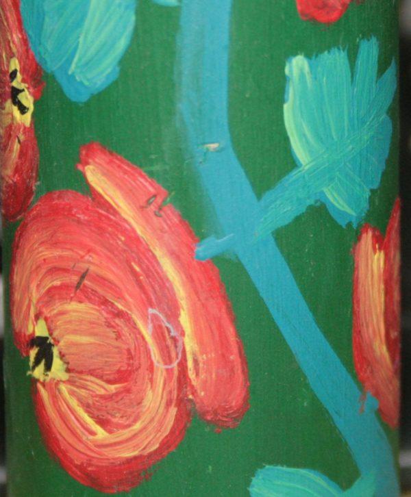 Гільза декорована петреківським орнаментом