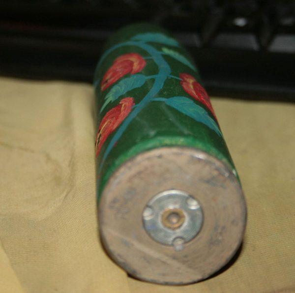 Сувенір - гілзьза з петреківським орнаментом