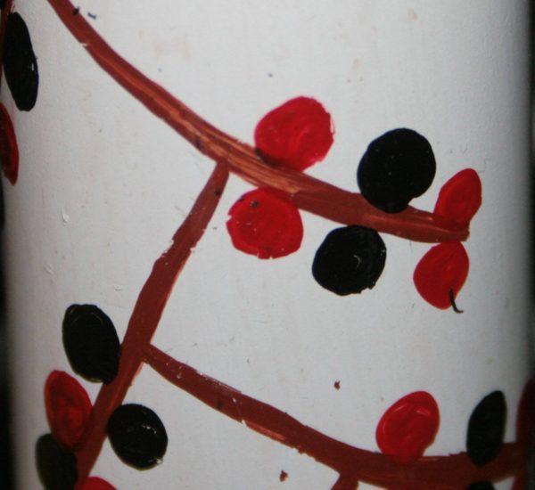 Гільза декорована сумським орнаментом