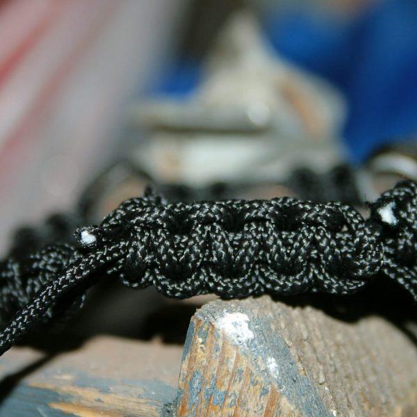 Плетений браслет з гільз - сувенір