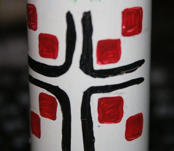 Декорована гільза з волинським орнаментом