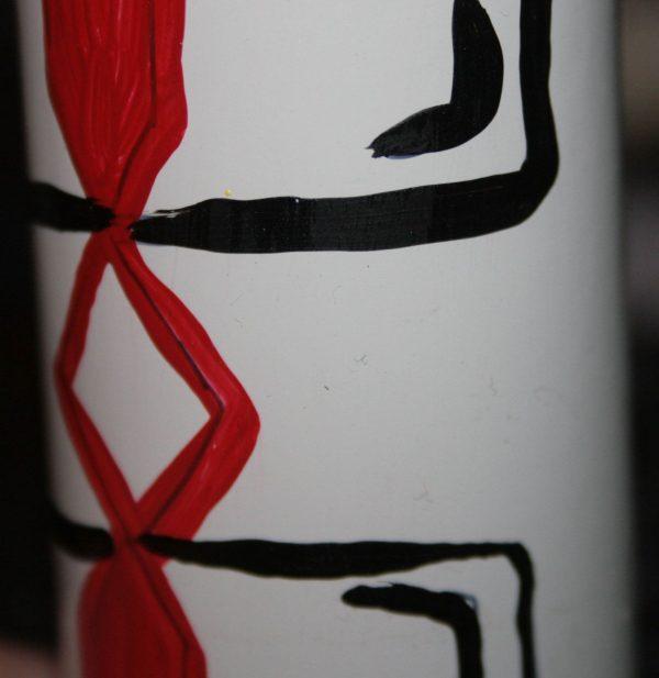 Гільза-сувенір з рівненським орнаментом