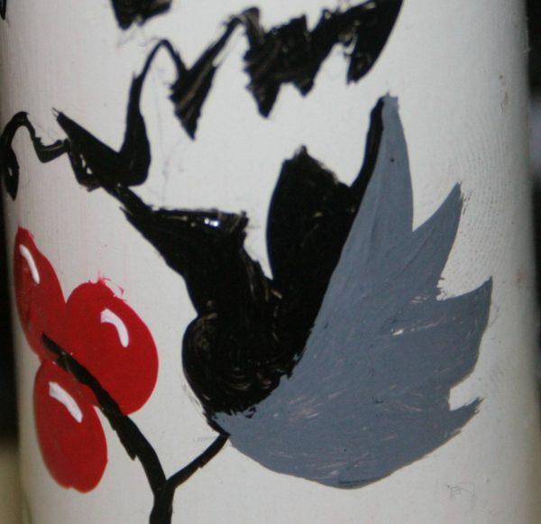 Сувенір - декорована гільза з миколаївським орнаментом
