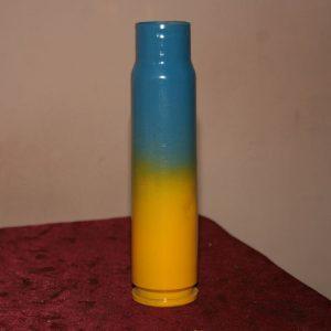 Жовто-блакитна гільза від БМП