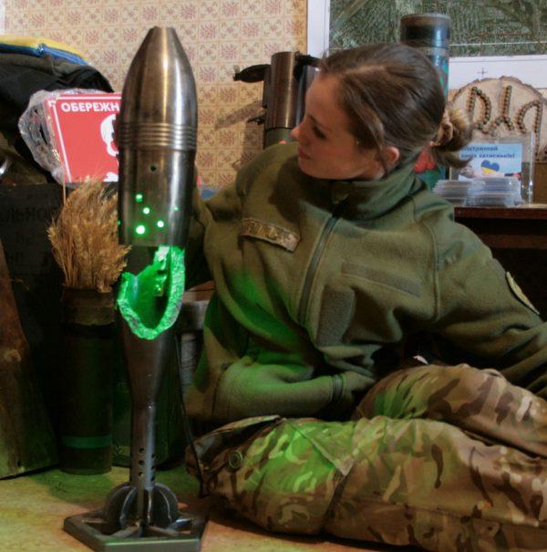 Аліна Косовська і Світильник з міни