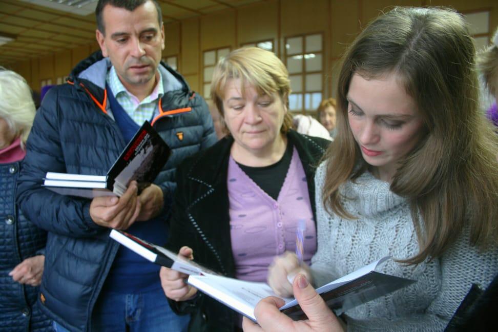 Презентація книги Авдіївка шлях до перемогив Білій Церкві