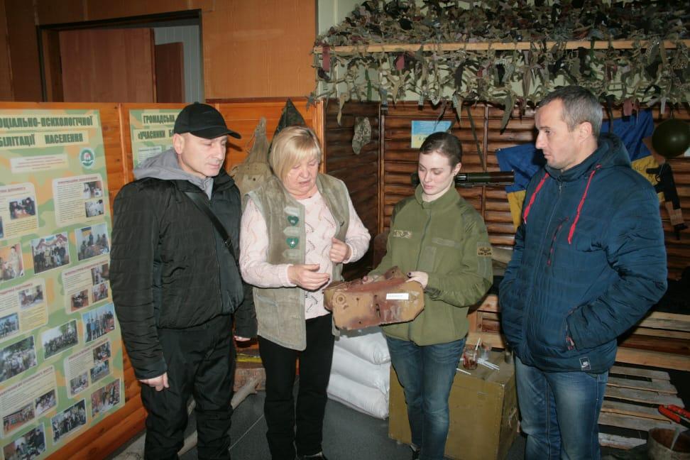 Музей АТО смт Іванків 2