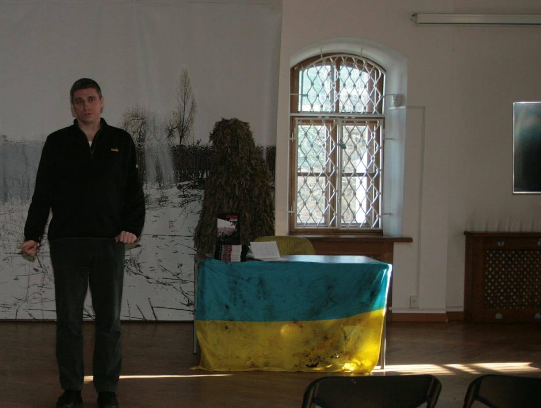 Валерій - журналіст з Авдіївки, нині працює у Києві