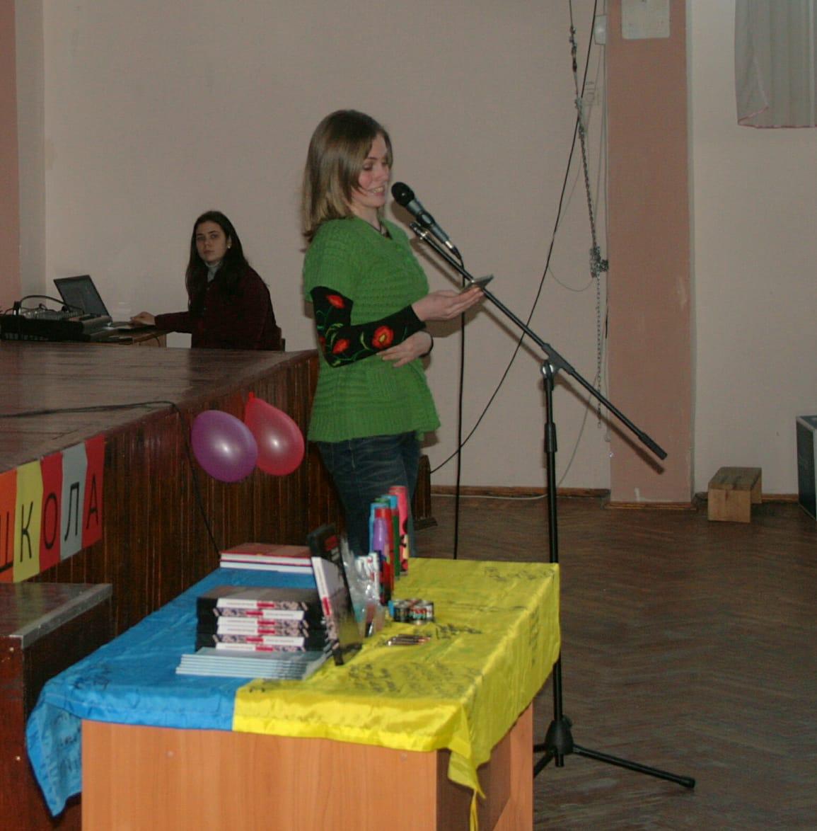 Аліна Косовська у Миколаєві