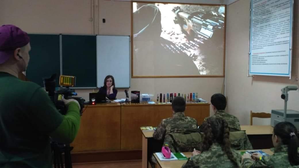 Аліна Косовська в стінах Національного Університету імені Юрія Федьковича