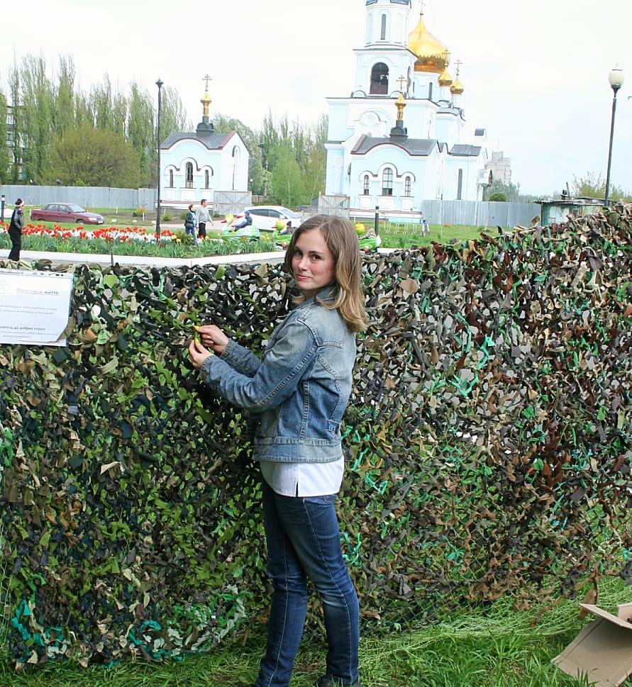 Аліна Косовська на фестивалі АвдіївкаFM