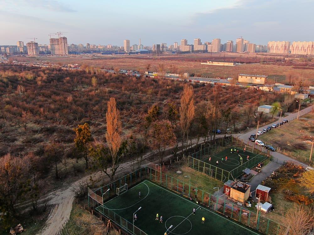 Київ фото з квадрокоптера
