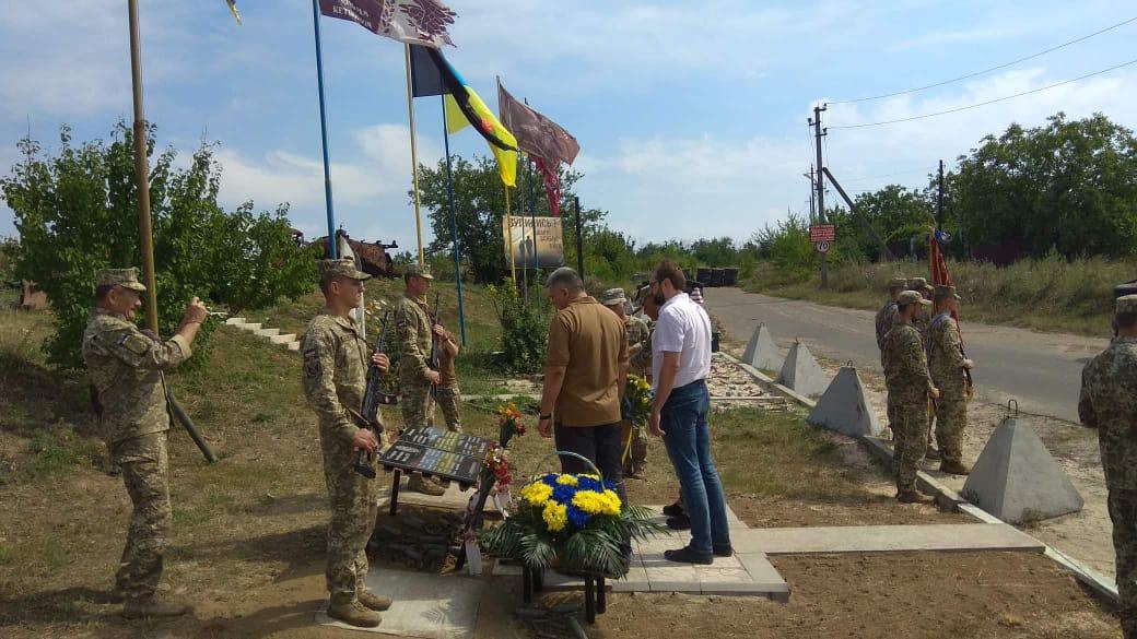 Нова частина експозиції на меморіалі захисникам авдіївської промзони
