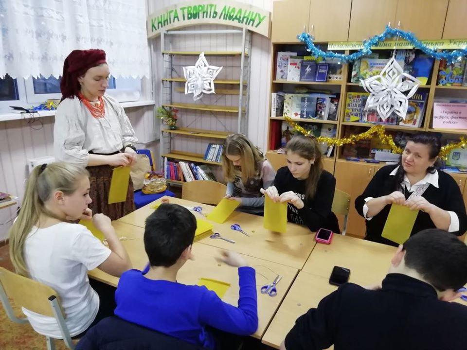 Благодійний майстер-клас в Авдіївці