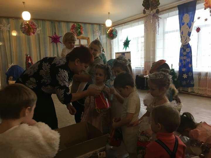 Дитячий садок села Красногорівка.