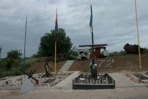Хрест на Меморіалі