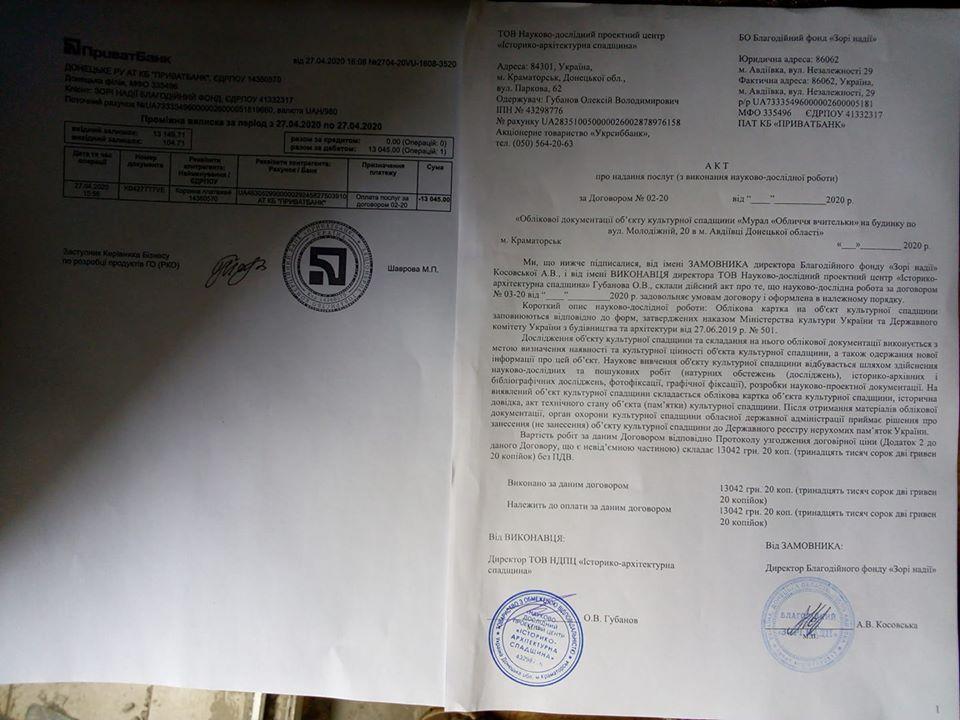 Звітні бухгалтерські документи