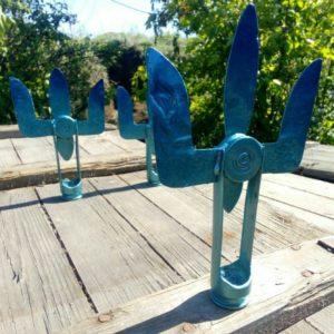 Сувенір: Тризуб ЗСУ із металу війни