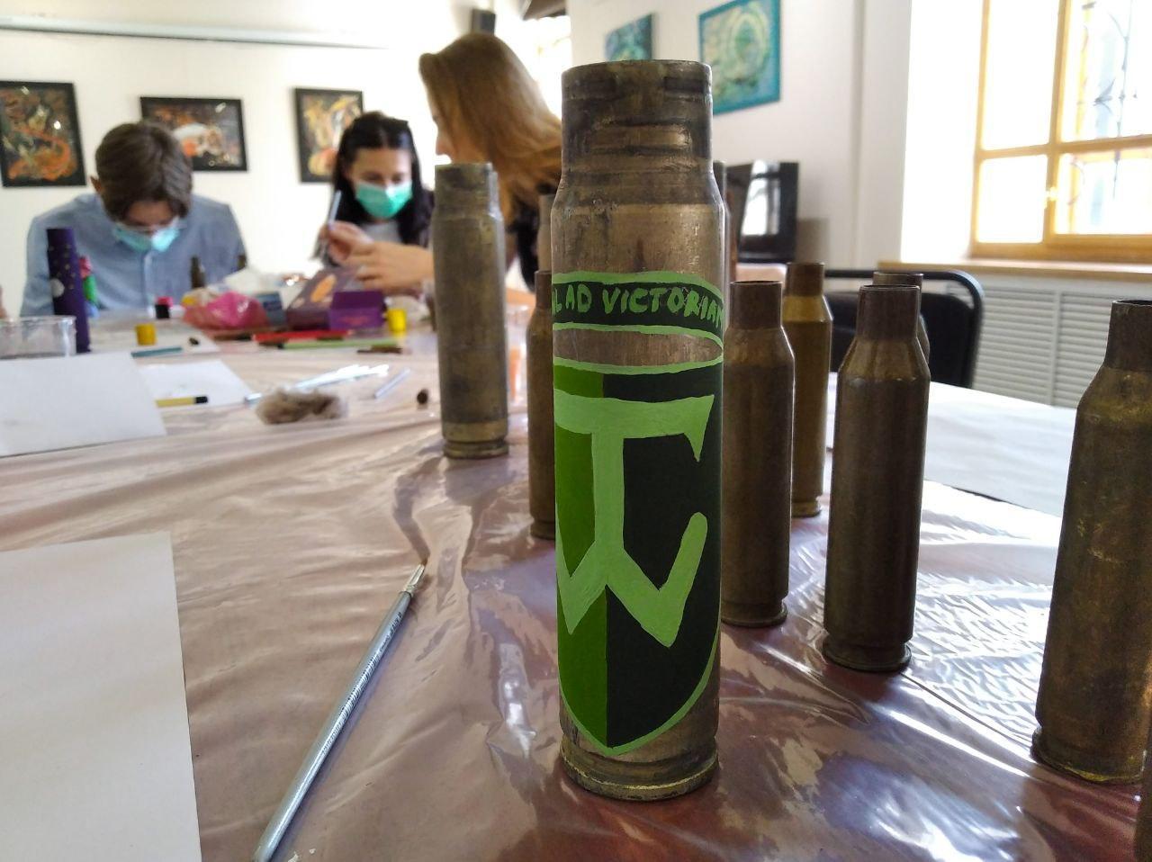Шеврон 58 бригади ЗСУ, зроблений дружиною військового