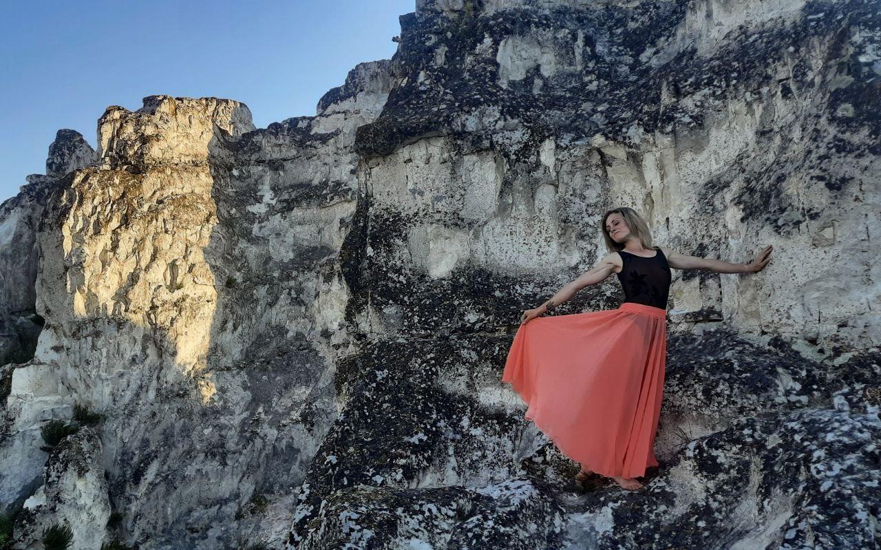 Толока на скелях Білокузьминівки